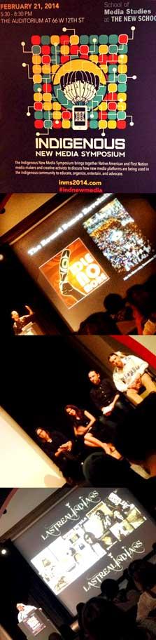 Indigenous New Media Symposium, 2014